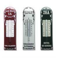 Thermometers with personal text