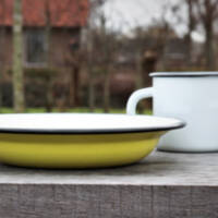 Enamel mugs & tableware