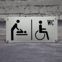 Disabled toilet / Diaper change room